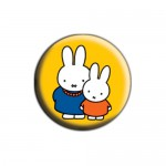 Miffy Button - Mit Mama